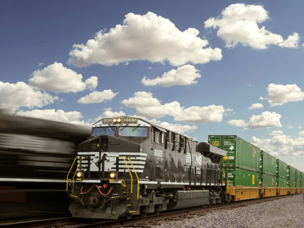 Norfolk Southern officials are looking to predictive analytics and other technological advances to keep double-stack intermodal trains on the move.
