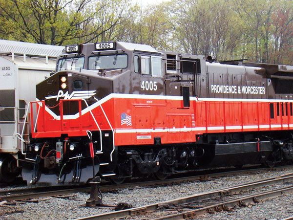 The Providence & Worcester Railroad was acquired by the Genesee & Wyoming in 2016.