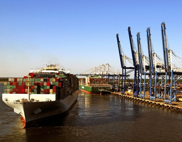 With three full berths returned to operation in July, the South Carolina Ports Authority's Wando Welch Terminal is handling containerized cargo volumes at a record pace.