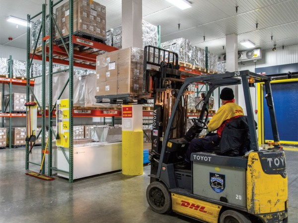 DHL attributes growth in the return freight to the residential business sector related to electronics warranties, repairs, replacements and returns.