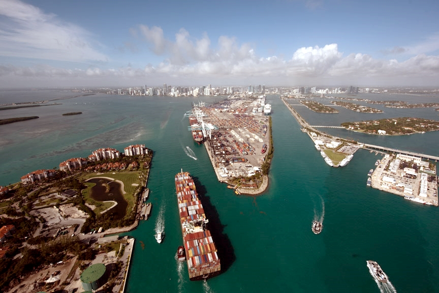 Island-situated PortMiami is attracting calls from a growing number of megacontainerships of carrier alliances following completion of its channel-deepening project.