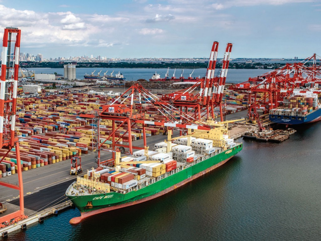 Now ranked No. 2 among US containerports, New York/New Jersey ready to  sustain success | AJOT.COM