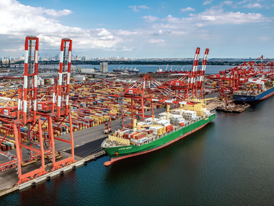 Port of New York and New Jersey's Port Newark Container Terminal
