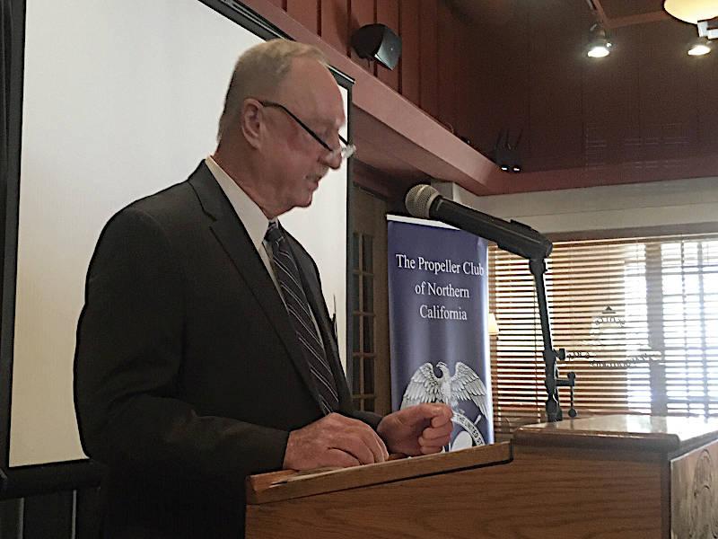 Jim McKenna, president of the Pacific Maritime Association
