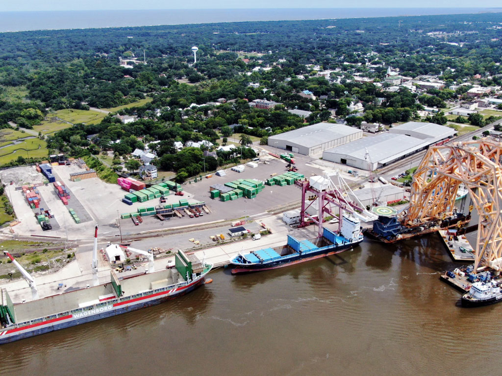 The Port of Fernandina, Florida's northernmost port, is pursuing multiple opportunities to diversify beyond its time-honored breakbulk cargo roots.
