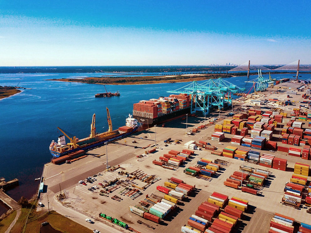 The SSA Jacksonville Container Terminal at Blount Island is expanding under partnership between the Jacksonville Port Authority and SSA Atlantic.