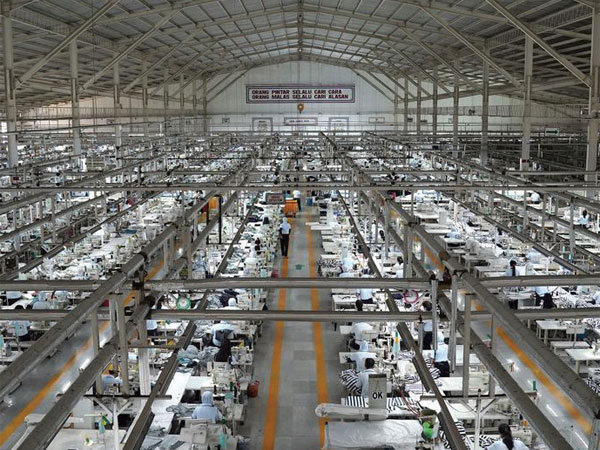 The Sri Rejeki Isman, known as Sritex, factory in Solo, Indonesia. (Photo: Dimas Ardian/Bloomberg)