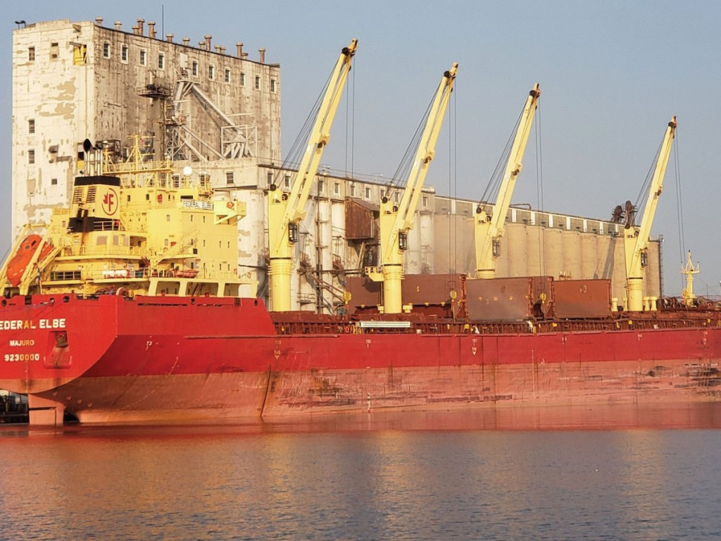 Agricultural exports were a key contributor to Port Milwaukee's highest volume in seven years.