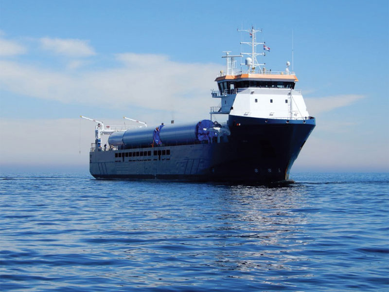 GSL's multi-functional Eleanor can operate out of all ports along the US East Coast. (Photo DEKC & Amasus Shipping.)