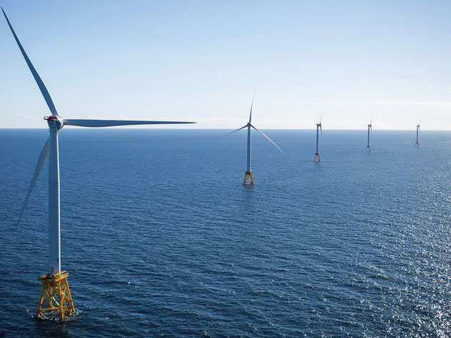 Virginia has a legislative target to generate 5,200 megawatts of offshore wind energy by 2034, to be supplied in part by the Dominion Energy project.