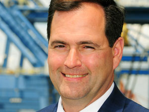Brian E. Clark, executive director of the North Carolina State Ports Authority, is proud of the performance of the NC Ports team in challenging times.
