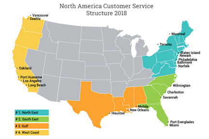 Sealand – a Maersk company: North America customer service