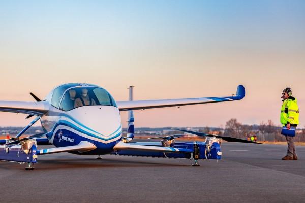 Boeing's autonomous passenger air vehicle prototype in Manassas, Virginia. Source: Boeing