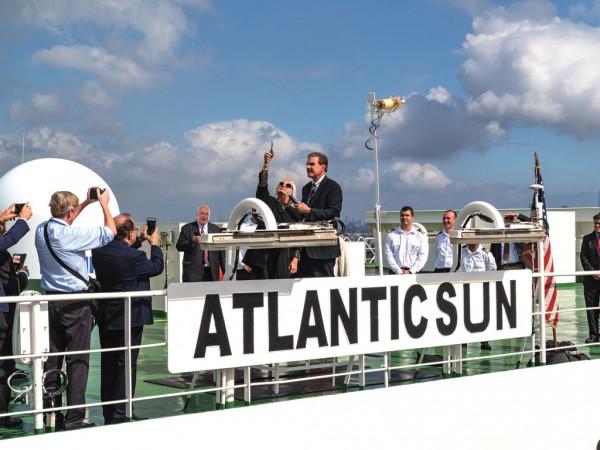 ACL Atlantic Sun christening