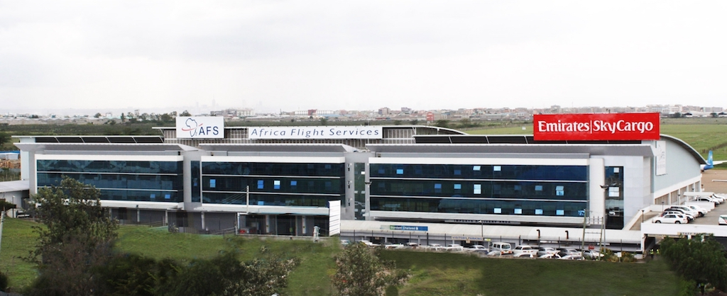 Africa Flight Services' cargo terminal in Kenya