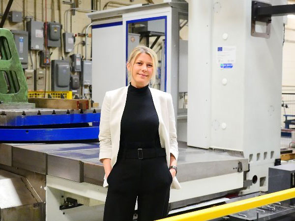 Anna Galoni, Thordon Bearings Inc. CEO and Chair, prepares to take the company to the next level