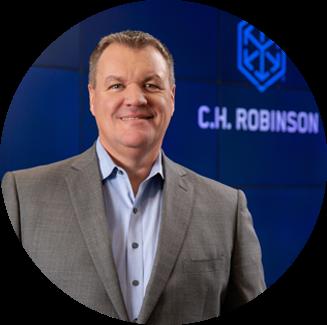 Bob Biesterfeld, chief executive officer of C.H. Robinson Worldwide Inc.