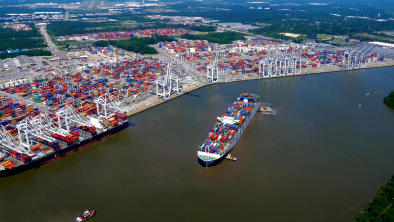 Georgia ports hit record cargo volumes