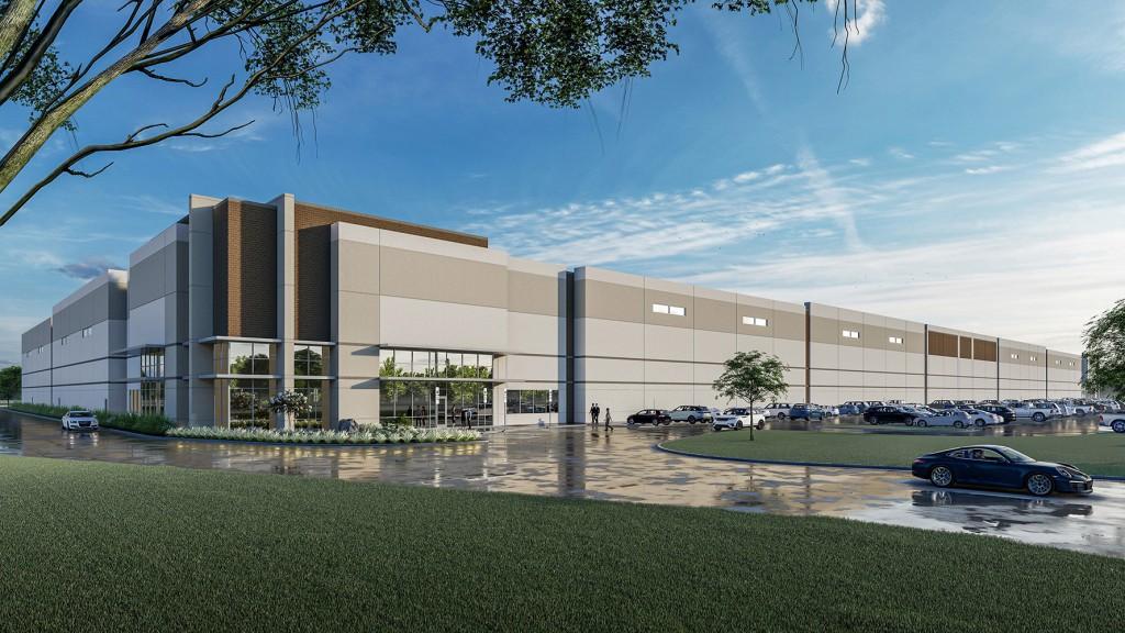 Stadium Logistics Center in Irving, TX