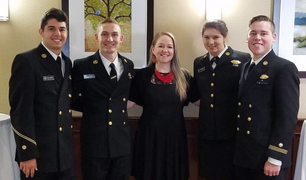 (L to R): Vincent Policastro, Joshua Caan, Jenny Terpenning, Rebecca Snyder and Chandler Chiappe