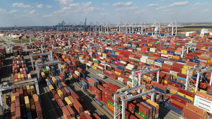 The Port of Savannah was the first container terminal in the Southeast or Gulf Coast to move 5 million twenty-foot equivalent container units in a fiscal year.