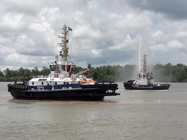 Damen RSD WID Tug 2915 Hybrid Fregate and ASD Tug 2310 SD Papillon