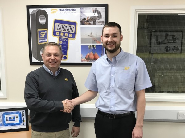 David Ayling, director at SP (left), welcomes Kyle Milne, who joins as technical sales engineer based in Aberdeen, Scotland.