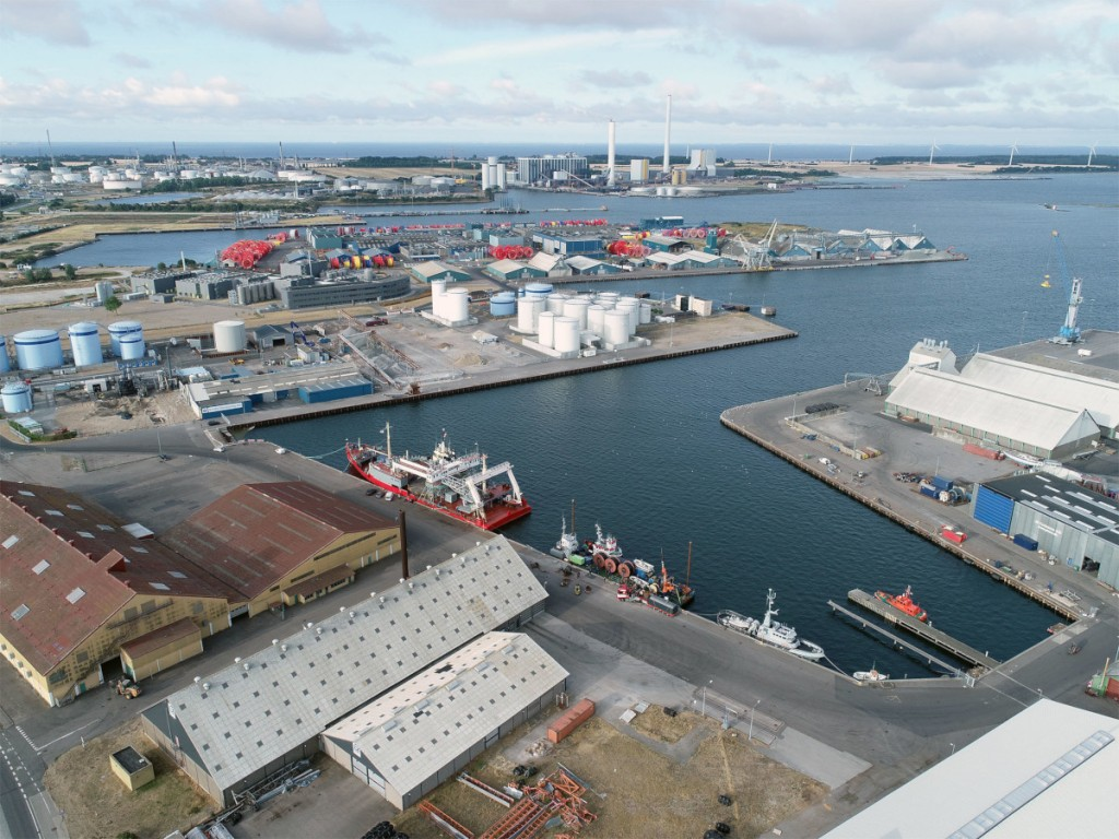 The Danish Port of Kalundborg is home to GAC Denmark's latest new office