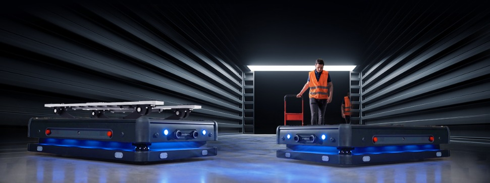 Frontrunner in innovation: DB Schenker invests in the development of autonomous mobile robots by Gideon Brothers (Picture credit: Gideon Brothers)