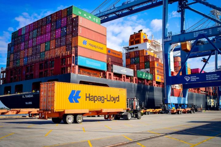 SC Ports offers capacity to customers while handling record volumes. (Photo/SCPA/English Purcell)