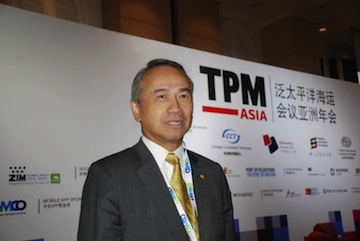 Bronson Hsieh, Second Vice Group Chairman of the Evergreen Group