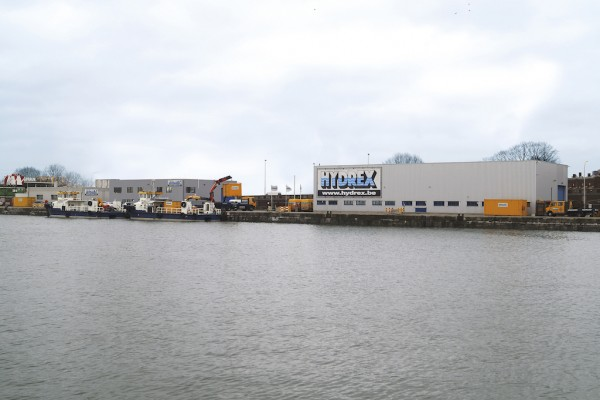Antwerp Port Authority has supported Hydrex Underwater Technologies' plan to expand