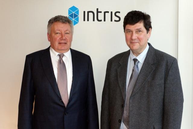 Patrick Van De Looverbosch (Managing Director) and Tony Vertenten (Chief Technology Officer), Intris
