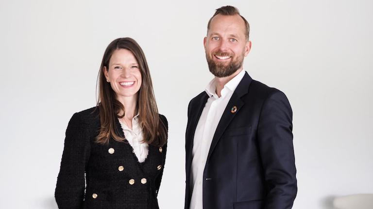 Karen Algaard and Per Martin Tanggaard - focused on the future of ocean opportunities