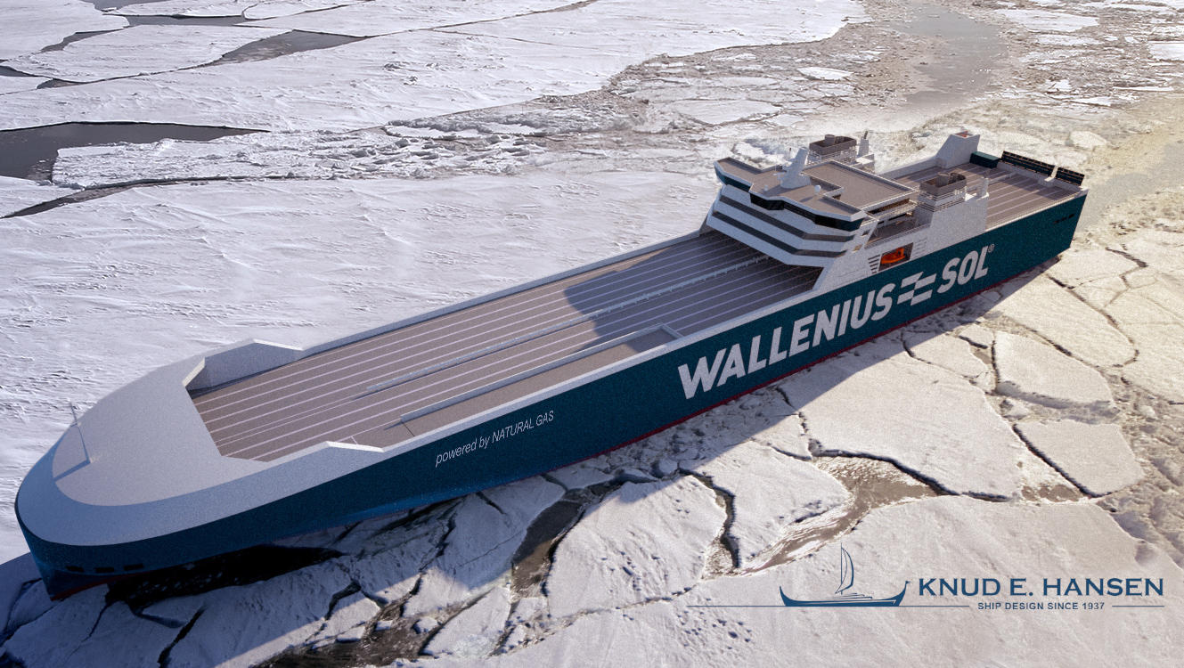 New LNG-powered RoRo vessels for Wallenius-SOL Designed by Knud E
