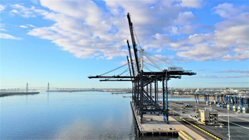 SC Ports' Leatherman Terminal will greatly benefit South Carolina for generations to come. (Photo/SCPA/Walter Lagarenne)