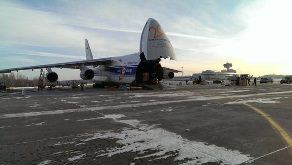 Volga Dnepr Lifts Lifts