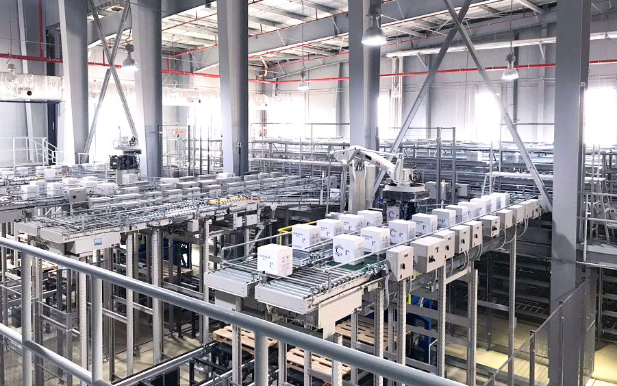 Lödige Industries has completed a new high-bay distribution and storage centre for SPIMACO's pharmaceutical production facility in Qassim.