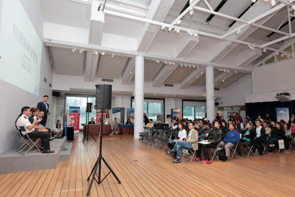 """""""Maritime Career Expo"""" featured a series of talks given by industry professionals and marine students"""