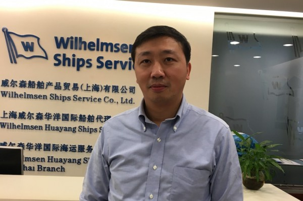 New General Manager for Wilhelmsen Huayang Ships Services