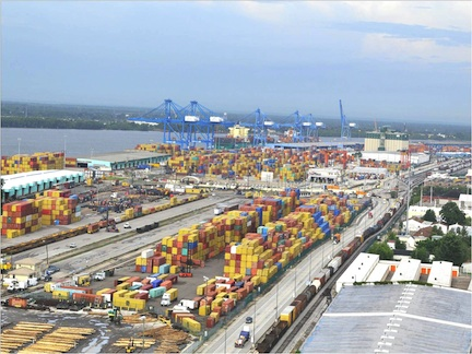 Modern, Efficient Terminal to Service Napoleon Avenue Container Terminal