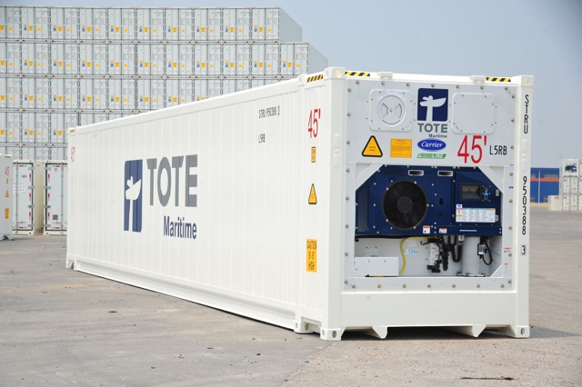 New TOTE PR 45ft Reefer-by CIMC Qingdao