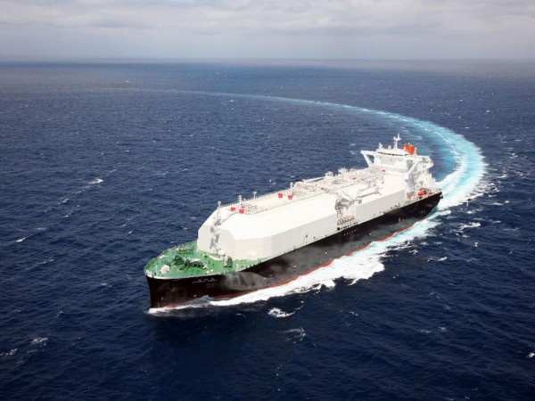 The Nohshu Maru is the second vessel for MOL to feature the MHI-developed Sayaringo [saya (pea)-ringo (apple)] cargo tank