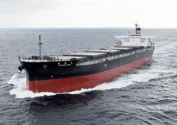 New NYK Coal Carrier Hokuriku Maru