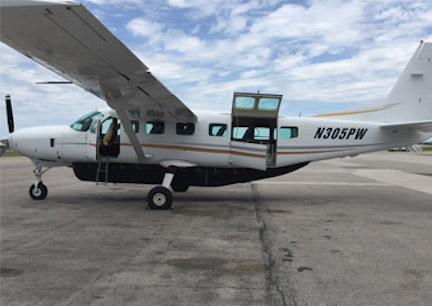 Pacific Air Holdings charter plane