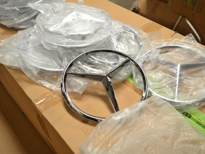 Counterfeit Mercedes Benz parts