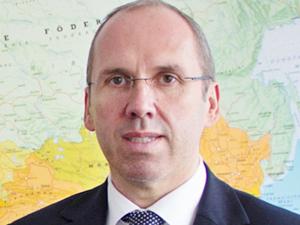 Thomas Moser, Director and Regional Manager Black Sea/CIS at Gebrüder Weiss. (Source: Gebrüder Weiss)