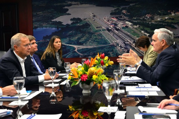 Maersk Delegation Meeting with Panama Canal Authorities