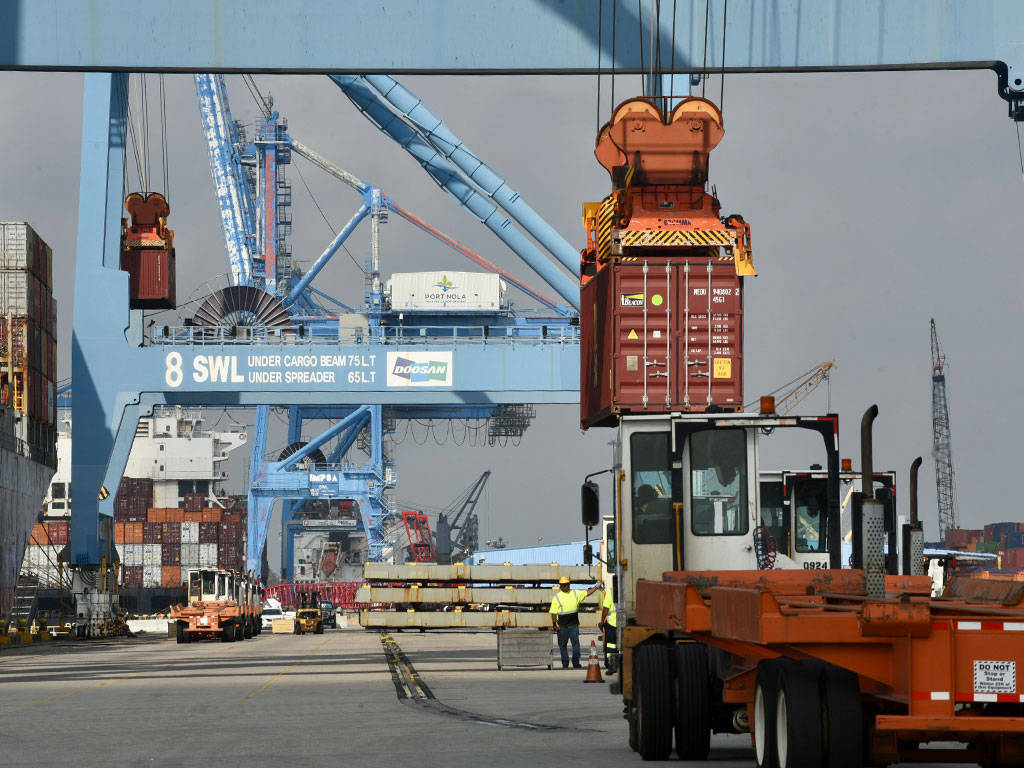 The Port of New Orleans resumed container vessel operations 9 days after Hurricane Ida
