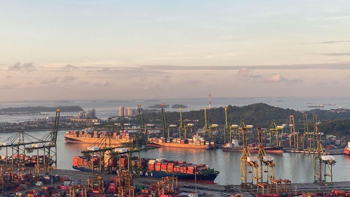 Port of Singapore - credit: Unsplash